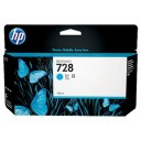 Cartridge HP Inkjet No 728 130ml Cyan-