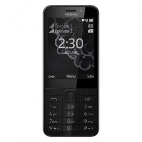 Mobile Phone Nokia 230 DS Dark Silver- Microsoft
