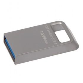 USB 3.1/3.0 Kingston 128GB DTMicro Type-A metal ultra-compact flash drive-
