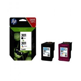 Cartridge HP Inkjet No 301 Combo 2-pack  (Black, Tri-color)-