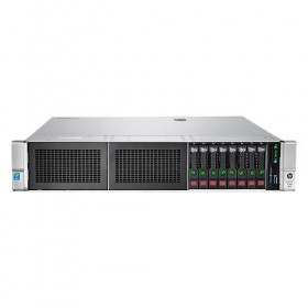 Server HPE ProLiant DL380 Gen9, E5-2620v4 2.1GHz (8C), P440ar/2G (RAID 0/1/1+0/5/5+0/6/6+0, 1 x 16GB RDIMM, 3 x 300GB SFF HP (up to 8 SFF HP SAS/SATA,  4x 1Gb, 1x 500W, DVD-RW, 3/3/3-