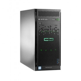 Server HPE Proliant ML110 Gen9, E5-2620v4 2.1GHz (8C), B140i controller (RAID 0/1/1+0/5), 2x1Gb, 1x 8GB RDIMM, 1x1T LFF SATA HP (up to 4LFF HP SATA), DVD-RW, 1x350W, 3/1/1-