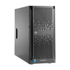 Server HPE ProLiant ML150 Gen9, E5-2620v4 2.1GHz (8C), H240 (RAID 0/1/1+0/5/5+0), 1 x 8GB RDIMM, 1x 1TB LFF HP SATA (up to 4 LFF HP SAS/SATA), DVD-RW, 2x1GbE, 1x 550W, 3/1/1-
