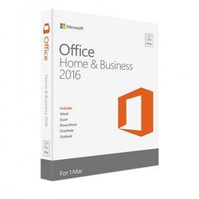 Application Microsoft Office for Mac Home Business 2016 English Medialess-