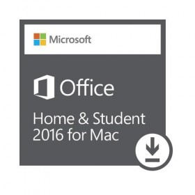 Microsoft Office Home  /  Student 2016 for Mac | 1 Mac Download-