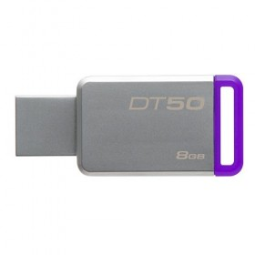 USB 3.0 Kingston 8GB  DataTraveler 50 (Metal/Purple)-