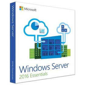 OS Microsoft Windows Server 2016 Essentials DSP 1-2 CPU Eng-