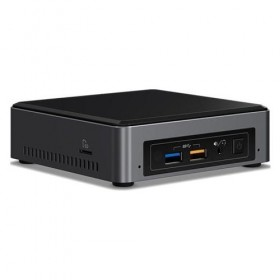 NUC Intel, incl. i3-7100U,2xDDR4 SODIMM,VGA,HDMI,4xUSB3,M.2 support,wire incl-