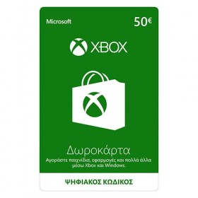 Microsoft Giftcard XBOX Live 50 Euro | Download-