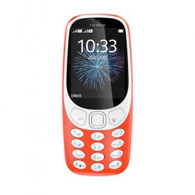 Mobile Phone Nokia 3310 Dual Sim Warm Red-