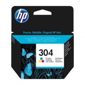 Cartridge HP Inkjet No 304 Tri-color (100p)-