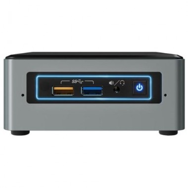 NUC Intel, Celeron-J3455, 2GB RAM, 32GB eMMC, 1xHDMI 2.0, VGA, 4xUSB3, 2xUSB2, Windows 10 Home-