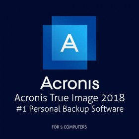 Application Acronis True Image 2018 5 Computers-