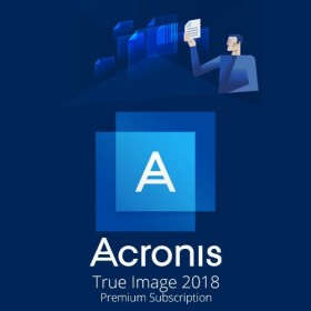 Acronis True Image Premium 3 Computer + 1 TB Acronis Cloud Storage - 1 year subscription THQASLLOS -
