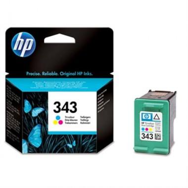 Cartridge HP Inkjet No 343 7 ml Tri-color- HP