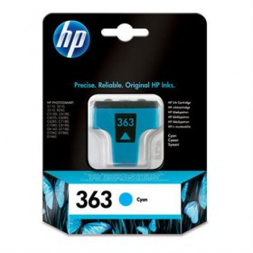 Cartridge HP Inkjet No 363 Cyan- HP