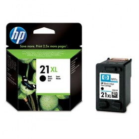 Cartridge HP Inkjet No 21 XL Black- HP