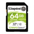 SDXC Kingston Canvas Select 80R CL10 UHS-I 64Gb-