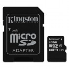 microSDHC Kingston Canvas Select 16GB UHS-I CL10 80Read + SD Adapter-
