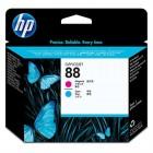 Cartridge HP Inkjet No 88 Magenta  / amp; Cyan Printhead- HP