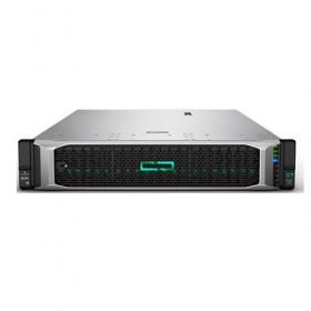 Server HPE ProLiant DL380 Gen10, Intel Xeon-B 3106 (8C), P408i-a SR (RAID 0/1/1+0/5/5+0/6/6+0), 1 x 16GB RDIMM, 2 x 300GB (up to 8 SFF HP SAS/SATA), DVD-RW, 1x 500W, 3/3/3-