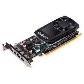 Graphics Card HP NVIDIA Quadro P600, 2GB GDDR5, 128-bit, 384 cores, PCI Express 3.0 x16, 4x miniDP, 1 Year-