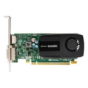 Graphics Card HP NVIDIA Quadro K420, 2GB DDR3, 128-bit, 192 cores, PCI Express 2.0 x16, 1x DVI-I; 1x DisplayPort 1.2, 1 Year-
