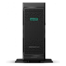 Server HPE ProLiant ML350 Gen10, 4110 2.10GHz (8C), P408i-a SR (RAID 0/1/1+0/5/5+0/6/6+0), 1 x 16GB RDIMM, no HDD (up to 8 SFF HP SAS/SATA), no optical, 1x 800W, 3/3/3-