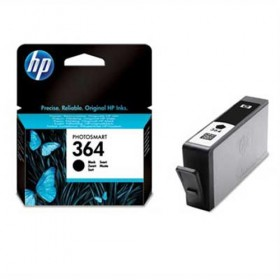 Cartridge HP Inkjet No 364 Black- HP