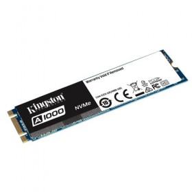 SSD Kingston 480GB A1000 PCIe Gen3 x 2, NVMe (M.2 2280)-