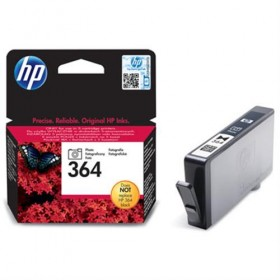 Cartridge HP Inkjet No 364 Photo Black- HP