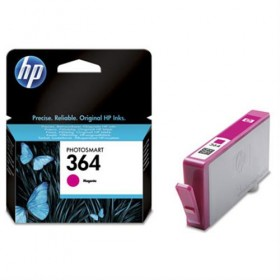 Cartridge HP Inkjet No 364 Magenta- HP