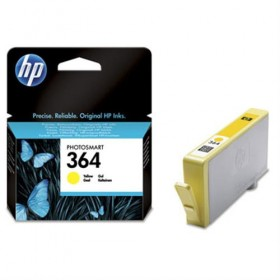 Cartridge HP Inkjet No 364 Yellow- HP
