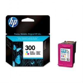 Cartridge HP Inkjet No 300 Tri-color CC643EE -