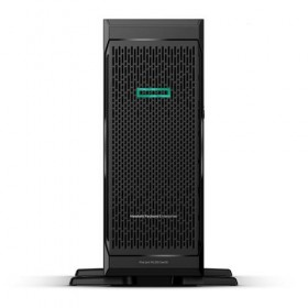 Server HPE ProLiant ML350 Gen10, 3104, 1.7GHz (6C), S100i (RAID 0/1/5/10) , 1 x 8GB RDIMM, no HDD (up to 4 NHP LFF SATA), no optical, 1x500W, 3/3/3-