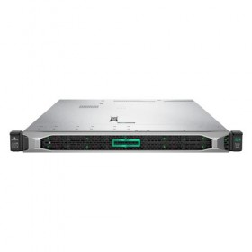 Server HPE ProLiant DL360 Gen10, 3104 1,7GHz (6C), E208i-a SR (RAID 0/1/1+0/5/5+0), 1 x 16GB RDIMM, no HDD (up to 4 LFF HP SAS/SATA), 4x 1Gb, no optical, 1x 500W, 3/3/3-