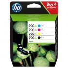Cartridge HP Inkjet No 903XL Combo pack (Black, Cyan, Magenta, Yellow) (825p)-