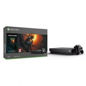 Console Microsoft Xbox One X  / amp; Shadow of Tomb Raider game bundle 1TB-