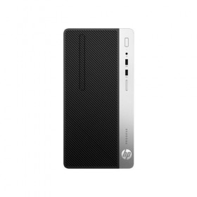 Desktop HP ProDesk 400 G5 Microtower PC, Intel Core i5-8500, 8GB, 256GB SSD, Intel UHD Graphics 630 , Win 10 Pro 64, 1 Year-