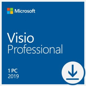 Microsoft Visio Professional 2019 ESD Download D87-07425 -