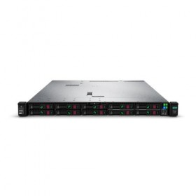 Server HPE ProLiant DL360 Gen10, 4110 2,1GHz (8C), P408i-a SR (RAID 0/1/1+0/5/5+0/6/6+0), 1 x 16GB RDIMM,  no HDD (up to 8 SFF HP SAS/SATA), no optical, 1x 500W, 3/3/3-