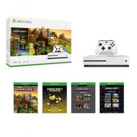 Console Microsoft Xbox One S Minecraft Creator Pack Bundle 1TB-