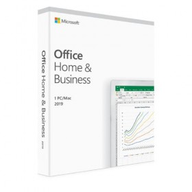Application Microsoft Office Home  / amp; Business 2019 Greek Medialess-