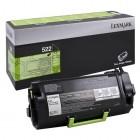 Cartridge LEXMARK Toner MS810de/dtn/811dn/dtn/812dn No 522 Black (6k)-