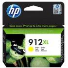Cartridge HP Inkjet No 912XL High Yield Yellow (825p)-