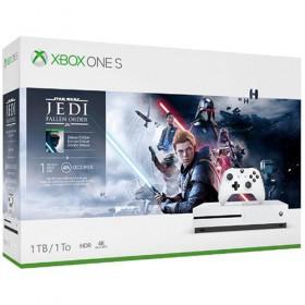 Microsoft Xbox One S Star Wars Jedi Fallen console-