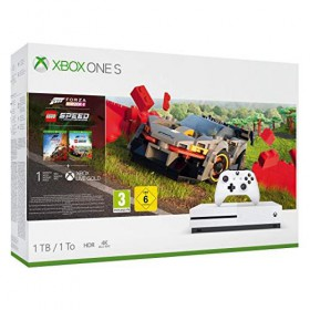 Microsoft Xbox One S Forza Horizon 4 and Lego Speed Champions-