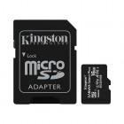 Kingston 16GB micSDHC Canvas Select Plus 100R A1 C10 Card + ADP-