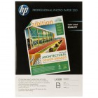 Paper Media HP SF Professional Glossy Laser Photo Paper 200 gsm-100 sht/A4/210 x 297 mm-
