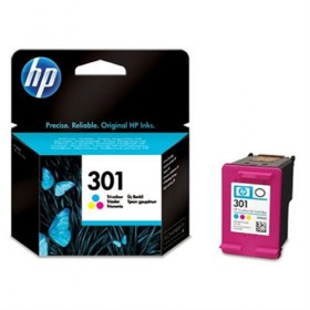 Cartridge HP Inkjet No 301 Tri-color Ink Cartridge CH562EE -